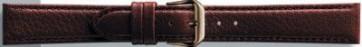 Correa de reloj de cuero genuino color marrón 18mm PVK-054