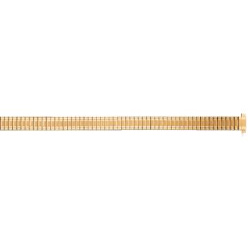 Bandas elásticas cromadas que se ajustann a todos los relojes de mujer con tamaño 10 a 14mm PVK-EC611
