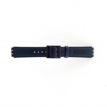 Correa para relojes Swatch azul oscuro 17mm PVK-SC11.05