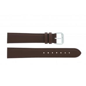 Correa de reloj 054.L02 XL Cuero Marrón 14mm + costura predeterminada