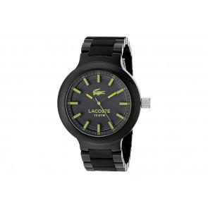 Lacoste correa de reloj 2010771 / 2010768 / LC-61-1-29-2559 / LC-61-1-29-2560 Plástico Negro 13mm