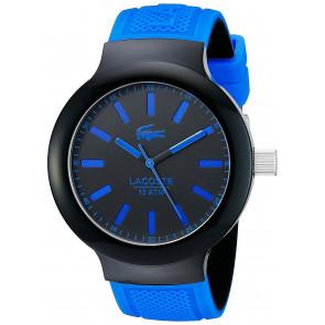 Lacoste correa de reloj 2010815 / LC-61-1-29-2349 Caucho Azul  16mm