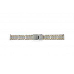Other brand correa de reloj Pebro 447-20 Metal Bicolor 20mm