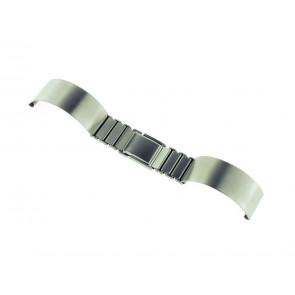 Correa de reloj Spange 16ST Metal Plateado 16mm