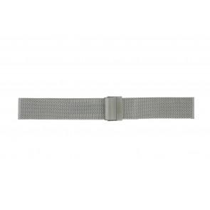 Morellato correa de reloj BE22.0112 Metal Plateado 20mm