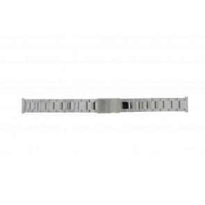 Morellato correa de reloj BE22.0486 Metal Plateado 16mm