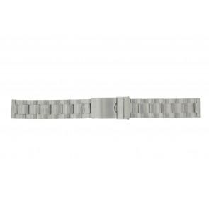 Morellato correa de reloj BE22.0607 Metal Plateado 18mm