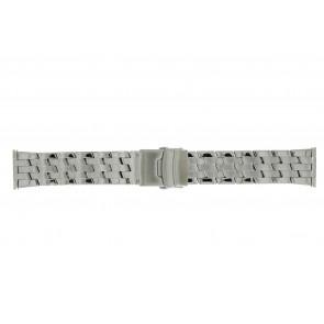 Morellato correa de reloj BE22.0634 Metal Plateado 24mm