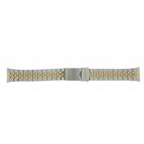 Morellato correa de reloj BE24.0459 Metal Bicolor 20mm