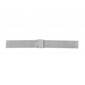 Other brand correa de reloj E-ST-ZIL-18 Metal Plateado 18mm
