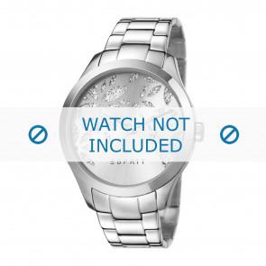 Esprit correa de reloj ES107282-001 Metal Plateado