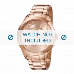 Esprit correa de reloj ES107282-002 Metal Rosa