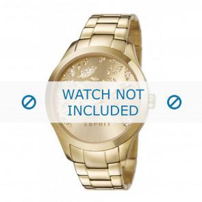 Esprit correa de reloj ES107282-003 Metal Dorado