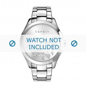Esprit correa de reloj ES107282-004 Metal Plateado