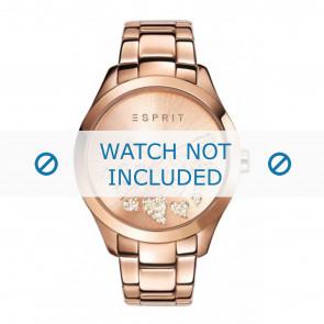 Esprit correa de reloj ES107282-006 Metal Rosa