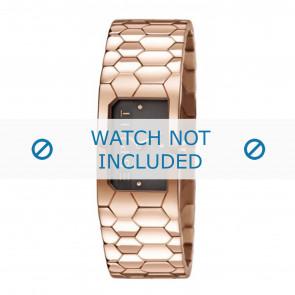 Esprit correa de reloj ES107882-003 Metal Rosa