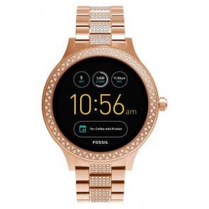 Reloj de pulsera Fossil FTW6008  Q EXPLORIST SMARTWATCH 44MM Digital Digital Smartwatch Mujer