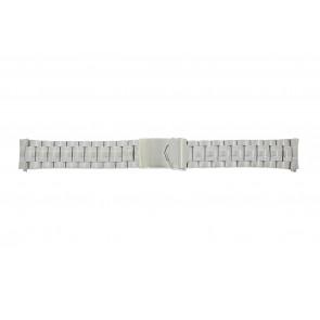 Calypso correa de reloj K5112 / K5118 Metal Plateado 20mm