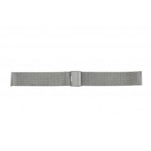 Other brand correa de reloj MESH18 Metal Plateado 18mm