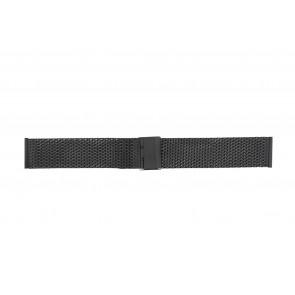Other brand correa de reloj MESH18.01 Metal Negro 18mm