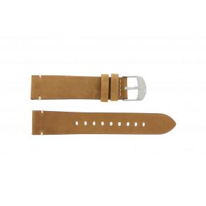 Timex correa de reloj PW4B01800 Cuero Cognac 20mm