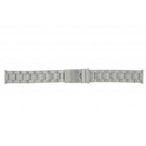 Morellato correa de reloj ST0320 Metal Plateado 20mm