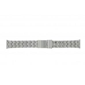 Morellato correa de reloj ST1022 Metal Plateado 22mm