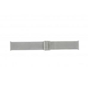 Morellato correa de reloj ST1722 Metal Plateado 22mm