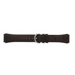 Timex correa de reloj T44381 Piel Marrón 20mm