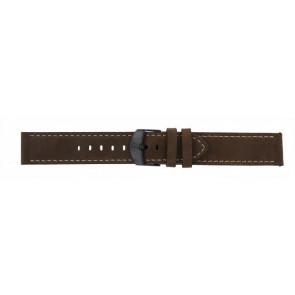 Timex correa de reloj T49905 Piel Marrón 20mm