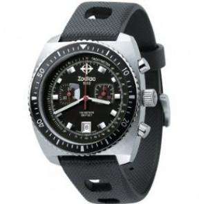 Zodiac correa de reloj ZO2240 Caucho Negro