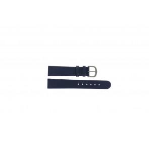 Danish Design correa de reloj ADDBE18 Piel Azul 18mm