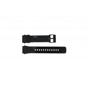 Adidas correa de reloj ADH6092 Caucho Negro 22mm