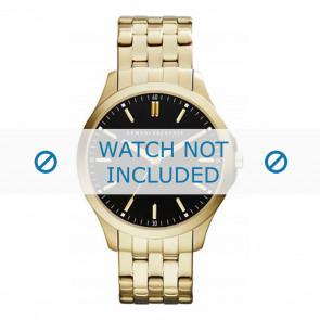 Armani correa de reloj AX2145 Metal Dorado