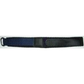 Correa de reloj de velcro azul oscuro 20mm