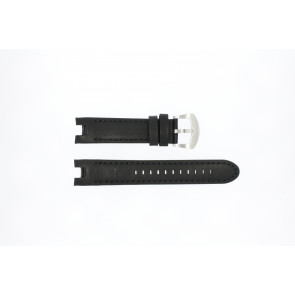 Buddha to Buddha correa de reloj 46mm / BTB.M.D.3H.02 Cuero Negro 21mm + costura negro