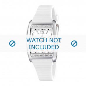 Calypso correa de reloj K6054-1 Caucho / plástico Blanco
