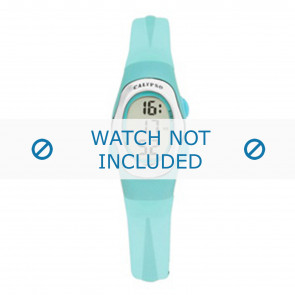 Calypso correa de reloj K6018-7 Caucho Turquesa
