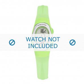 Calypso correa de reloj K6018-9 Caucho Verde