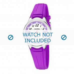Calypso correa de reloj k6067-2 Caucho Púrpura 7mm