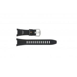 Casio correa de reloj PRW-1300-1VJ Goma Negro 26mm