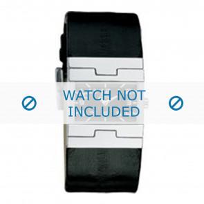 Dolce & Gabbana correa de reloj 3719251529 / F360002056 Cuero Negro