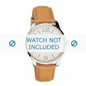 Dolce & Gabbana correa de reloj 3719340281 Cuero Marrón + costura marrón