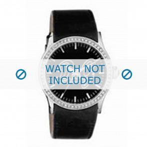 Dolce & Gabbana correa de reloj DW0267 Cuero Blanco + costura blanca