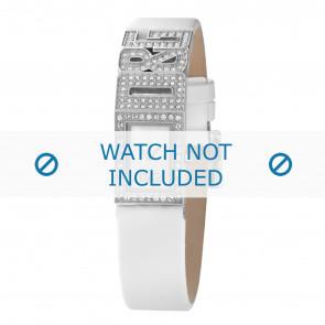 Dolce & Gabbana correa de reloj DW0506 Cuero Blanco