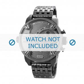 Diesel correa de reloj DZ7263 Metal Gris antracita 24mm