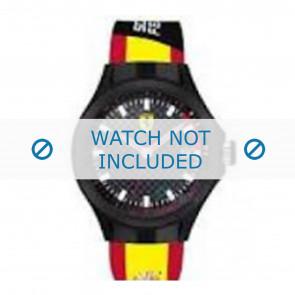 Ferrari correa de reloj SF.01.1.47.0088 / 68900073 Caucho Amarillo