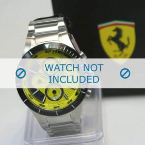 Ferrari correa de reloj SF.25.1.34.0196 Metal Plateado