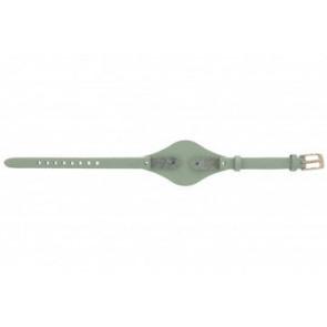 Fossil correa de reloj ES-3467 Piel Verde 8mm