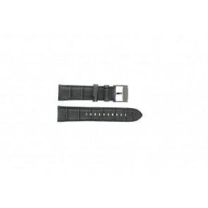 Fossil correa de reloj FS4766 Cuero Gris 22mm